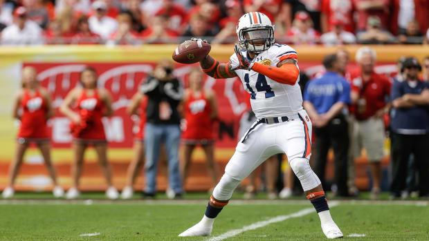 Auburn QB Nick Marshall to enter NFL Draft as CB