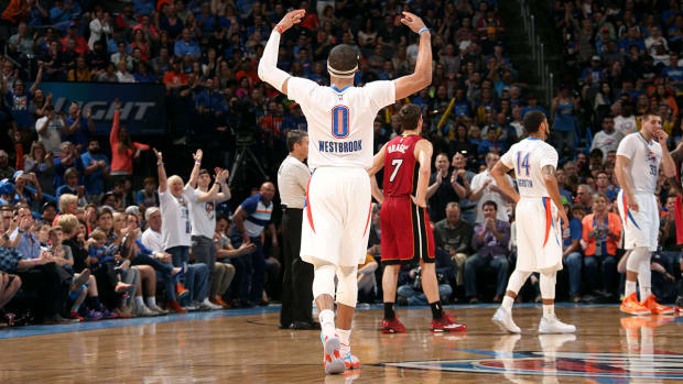 Russell Westbrook records 10th triple double of season IMAGE