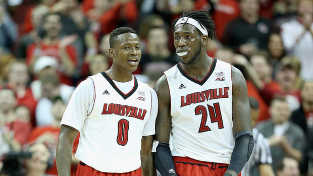 Terry Rozier and Montrezl Harrell NBA draft early entries