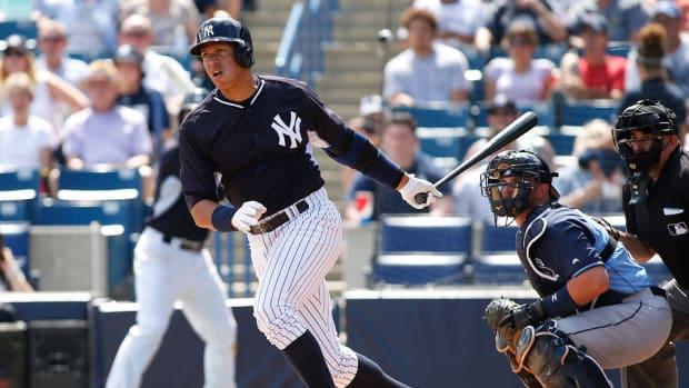 yankees alex rodriguez home run spring training