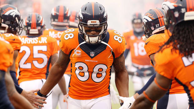 Broncos place 'non-exclusive' franchise tag on Demaryius Thomas