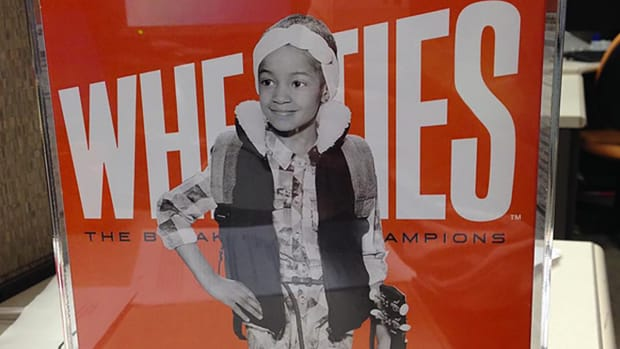 Wheaties puts Leah Still on the front of her own cereal box--IMAGE