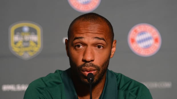 arsenal thierry henry coach