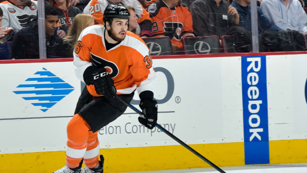 Flyers F Zac Rinaldo suspended