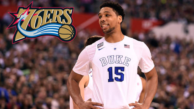 76ers draft Jahlil Okafor with No. 3 pick in NBA draft IMAGE