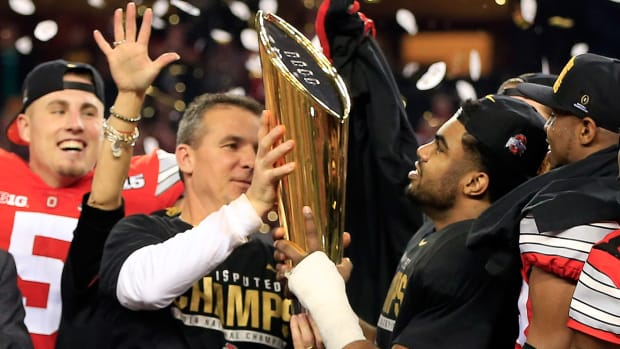 Ohio State players describe winning the first CFP National Championship IMG