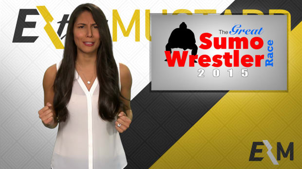 Mustard Minute: Who will win the Great Sumo Wrestler Race? IMG