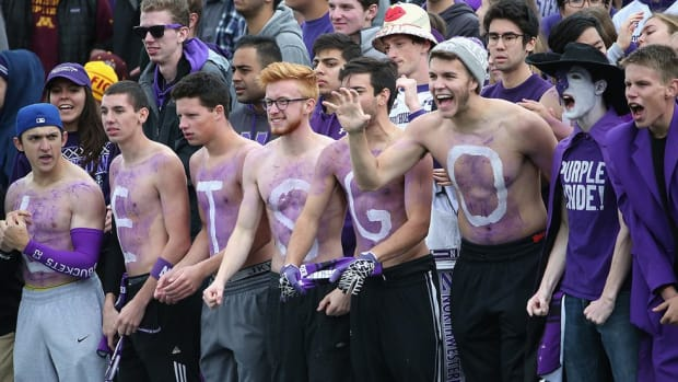 Northwestern continues to have the best dance moves in college football