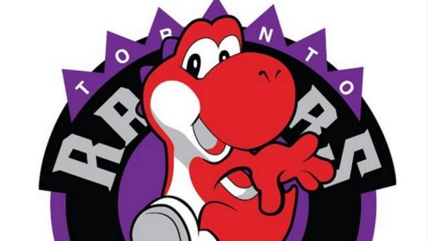 NBA Video game mashup logos