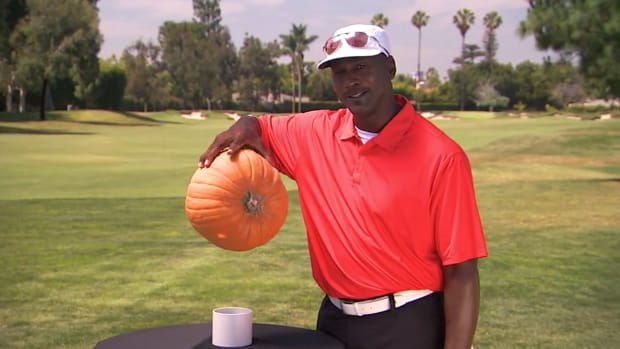 Watch: 'Can Michael Jordan palm it?' on Jimmy Kimmel Live