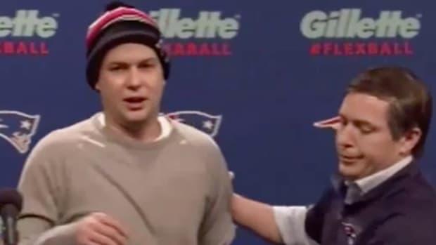 Belichick, Brady mocked in SNL Deflategate sketch - image