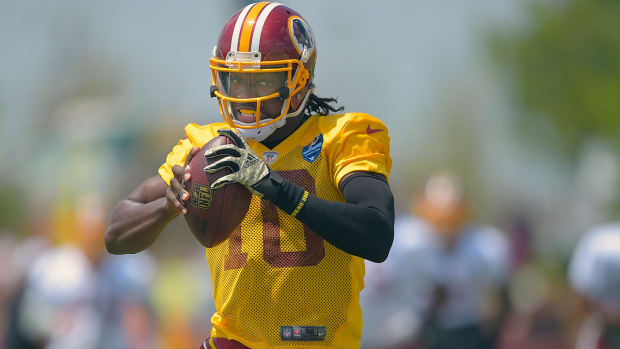 Robert Griffin III: 'I feel I'm the best quarterback in the league' IMAGE
