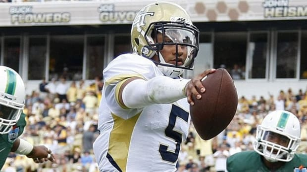 Georgia Tech believes in QB Justin Thomas; Ole Miss' Nkemdiche an offensive weapon