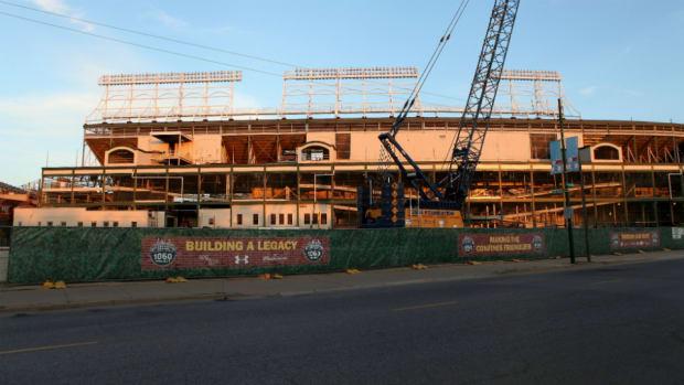 wrigley field renovations