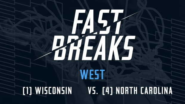 Fast Breaks: (1) Wisconsin vs. (4) UNC preview IMAGE