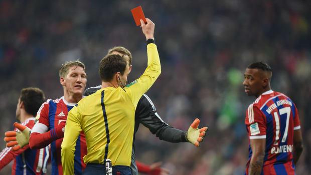 Bayern Munich Jerome Boateng suspension reduced