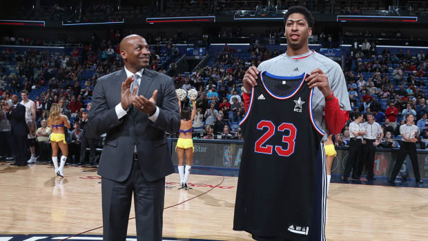 Anthony Davis withdraws from All-Star Game IMAGE