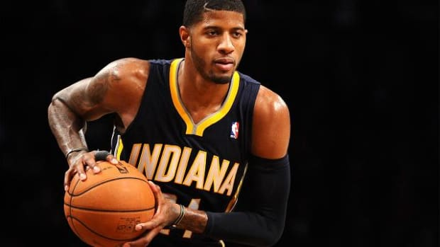 NBA fines Indiana Pacers forward Paul George $10,000 for criticizing officials  -- IMAGE