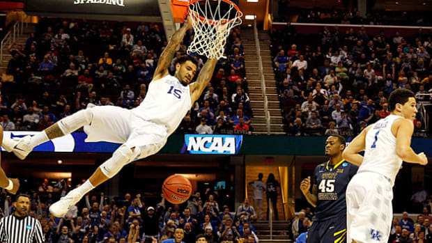 Willie Cauley-Stein dunk West Virginia