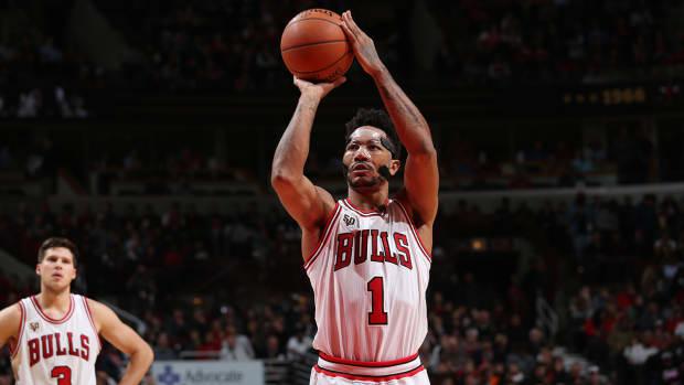 Chicago Bulls defeat Cleveland Cavaliers to begin NBA season - IMAGE