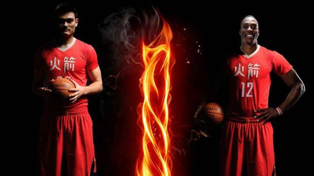 Rockets Chinese New Year Uniforms