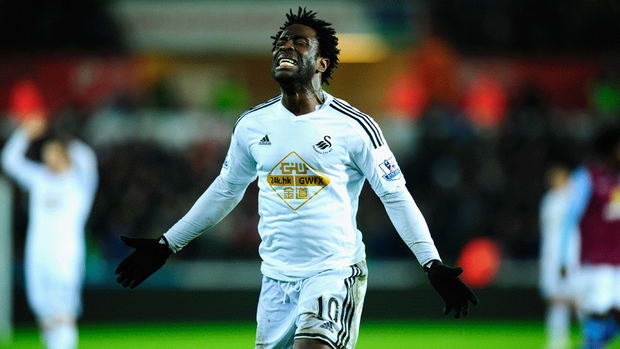 Swansea to sell Wilfried Bony to Manchester City in £28 million deal