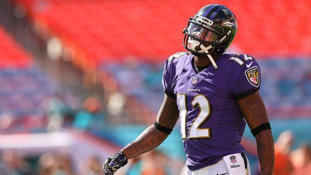 Ravens release Jacoby Jones IMAGE