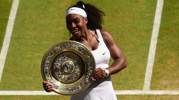 2015 Wimbledon women's champion Serena Williams IMAGE