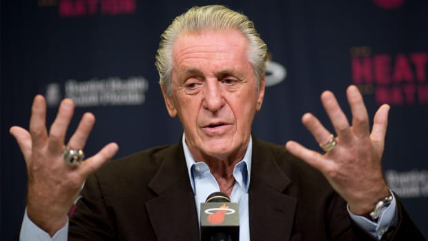 Miami Heat president Pat Riley: We want Dwyane Wade back