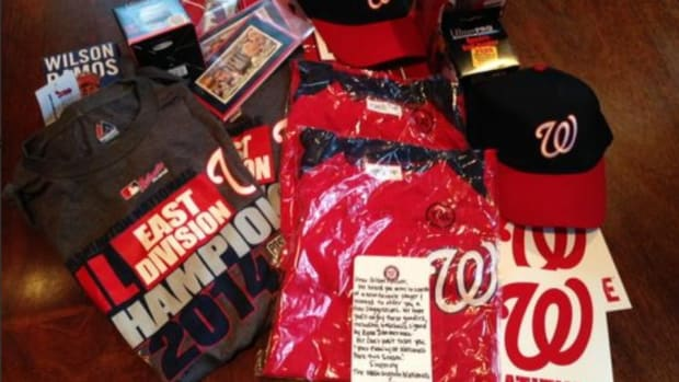 Nationals send Tyler Clippard fans gift packages