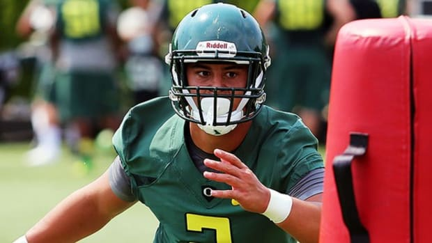 More than Marcus's brother: Walk-on LB Matt Mariota carving his own path at Oregon