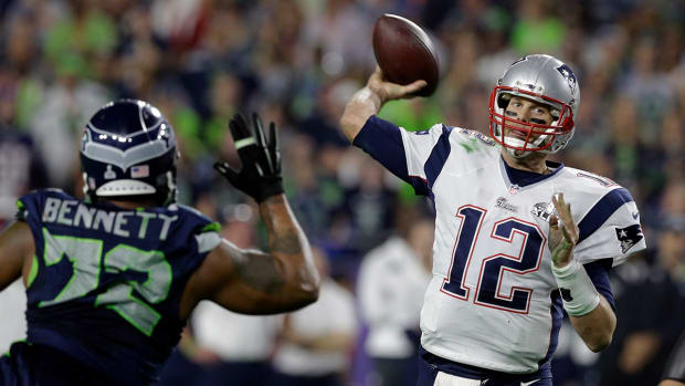 Tom Brady breaks Joe Montana's Super Bowl TD record IMAGE