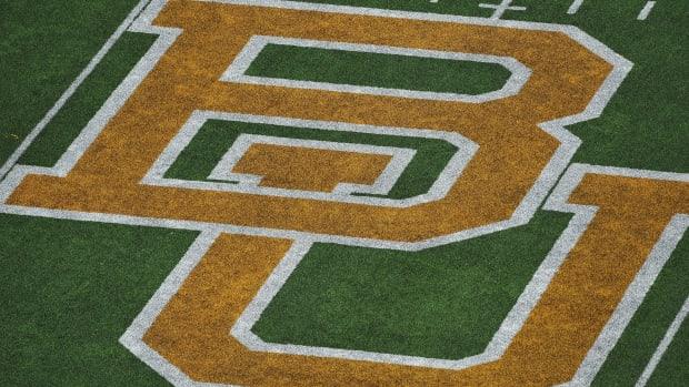 Baylor logo football field