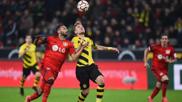 Dortmund Leverkusen draw
