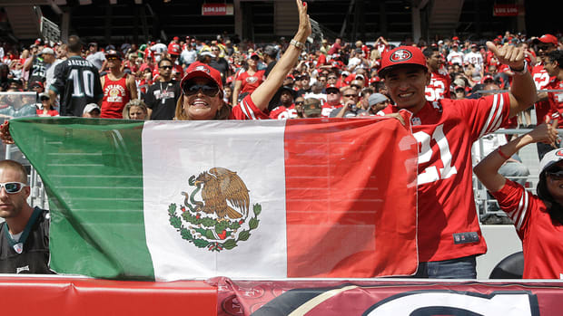 NFL Mexico Germany Brazil expansion frontier markets