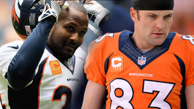 Champ Bailey wants Wes Welker to retire IMAGE