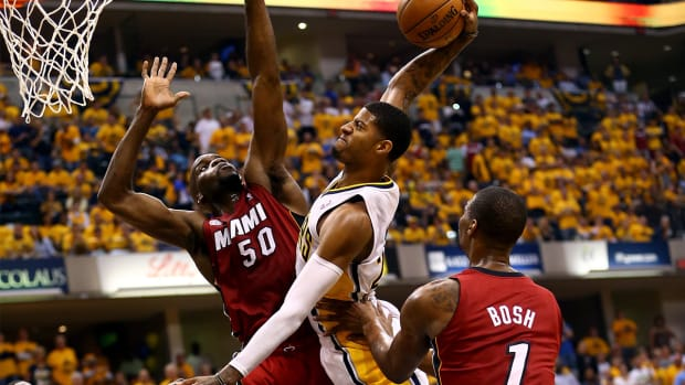 Paul George project to start at power forward for the Indiana Pacers -- IMAGE