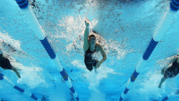 Ann Arbor named 'America's Top Swim City' for second straight year--IMAGE