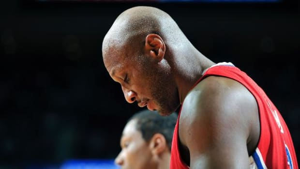 Lamar Odom could face felony drug charge in Nevada - IMAGE