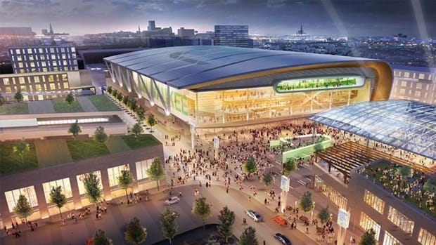 Wisconsin governor announces $500M deal for new Bucks arena IMAGE