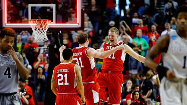 Utah Georgetown NCAA Saturday top