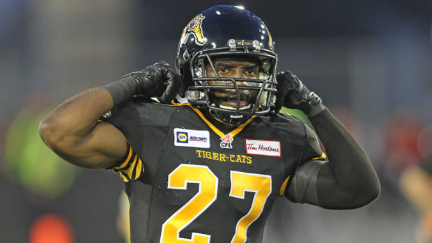 Delvin Breaux Tiger Cats