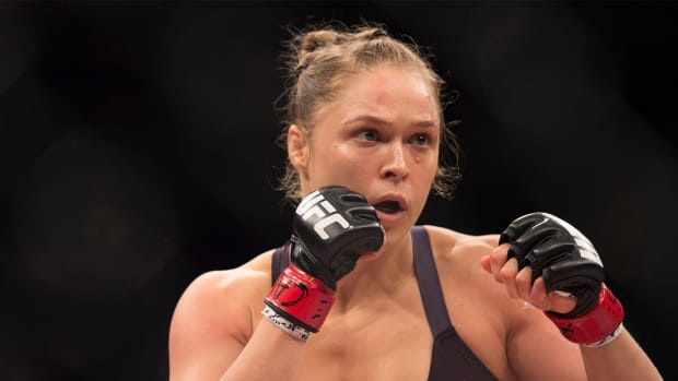 Ronda Rousey announces next fight will be against Holly Holm--IMAGE
