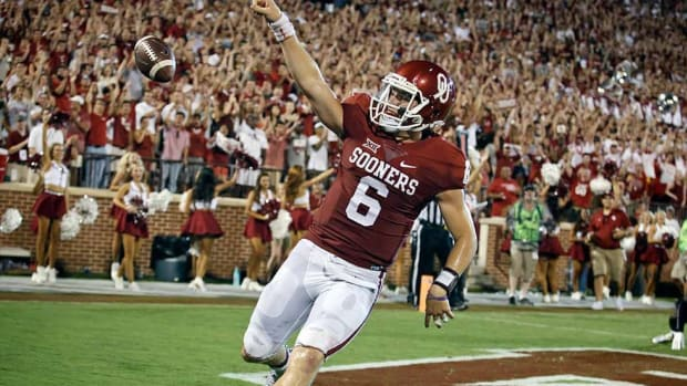 Confident quarterback Baker Mayfield has helped resuscitate Oklahoma's stagnant offense