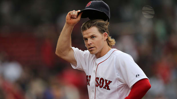 Red Sox utilityman Brock Holt hits for cycle IMAGE