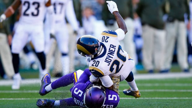 Report: NFL fines Lamarcus Joyner $23,152 for Teddy Bridgewater hit IMAGE