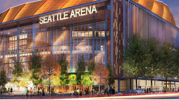 seattle arena rendering