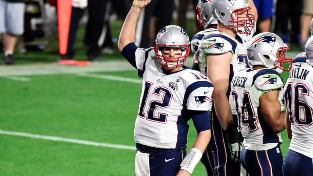 Tom Brady 2015 Super Bowl MVP New England Patriots Seattle Seahawks