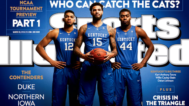 Kentucky men's basketball team featured on this week's SI cover