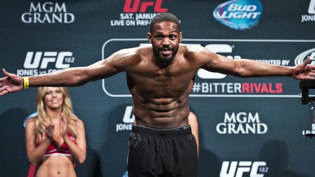 UFC champion Jon Jones enters rehab after positive cocaine test IMAGE